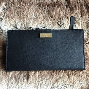 Kate Spade Stacy Snap Saffiano Leather Wallet